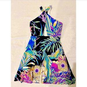Mara Hoffman A-Line Linen Cut-Out Summer Dress